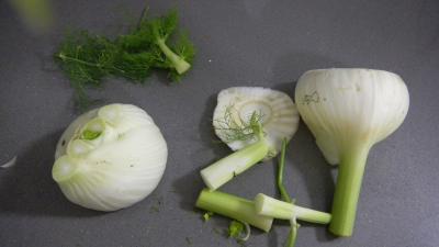 Lieu noir sauté aux pâtes et aux légumes - 2.1
