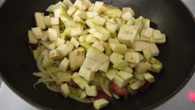 Lieu noir sauté aux pâtes et aux légumes - 4.4