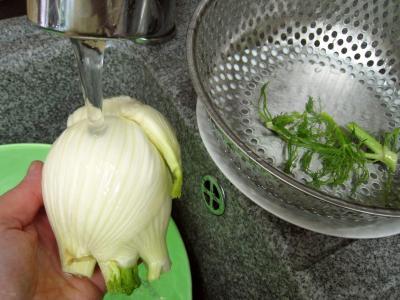Lieu noir sauté aux pâtes et aux légumes - 2.3