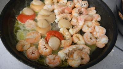 fruits de mer, panga et choucroute - 8.1