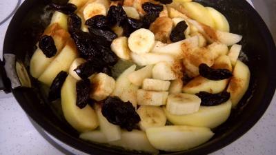 Recette Crêpes aux fruits frais