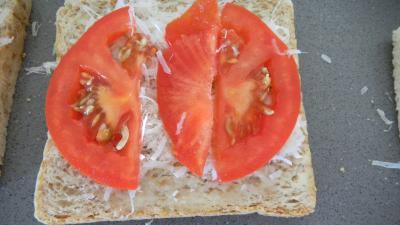 Croque-monsieur à la tomate - 4.3