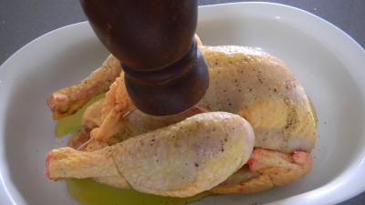 Poulet sauce soja et sa purée de carottes - 3.4