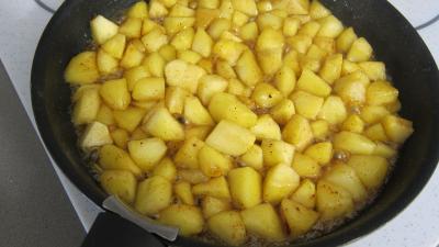 Pommes caramélisées au yaourt - 3.1