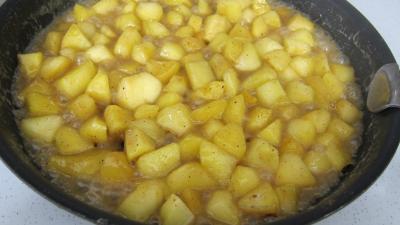 Pommes caramélisées au yaourt - 3.3