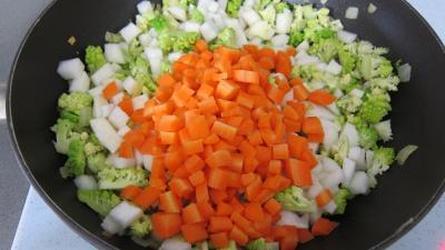 Lasagnes aux carottes et au chou romanesco - 5.2