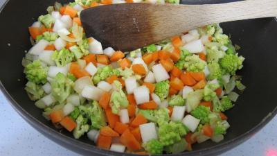 Recette Lasagnes aux carottes et au chou romanesco