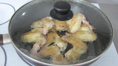 Ailerons de poulets sautés aux navets - 5.1