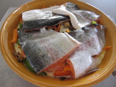 Tajine de truite aux carottes et curcuma - 7.2