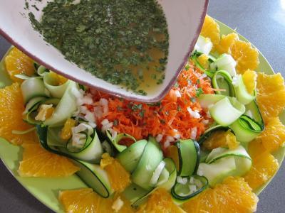 Orange en salade à l'eau de fleur d'oranger - 6.1