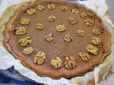 Tarte aux noix à la vanille - 10.3