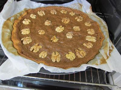 Tarte aux noix à la vanille - 11.1