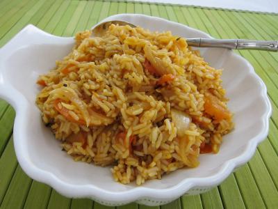 concentré de tomate : Un plat de risotto