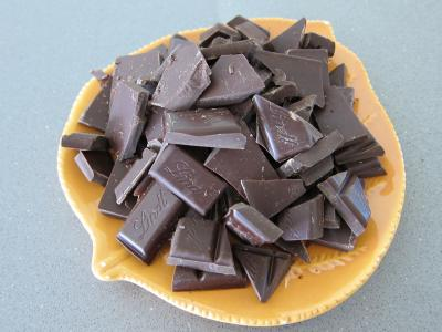 Fondant au chocolat et son pralin - 1.1