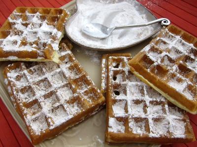 Recettes rapides : Que des gaufres au sucre et à la cannelle !