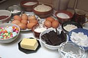 Ingrédients pour la recette : Nid de Pâques