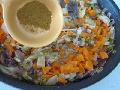 Cabillaud aux cacahuètes et aux légumes - 6.4