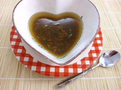Vinaigrette à la sauce soja et huile de noix