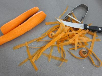 Omelettes aux carottes et aux légumes - 2.2