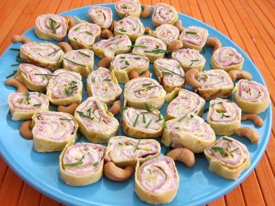 Roulés au jambon, brousse et mascarpone - 4.2