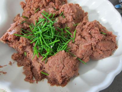Tartare de boeuf aux haricots plats - 6.1