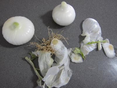 Tomates farcies chipolatas et merguez - 1.1