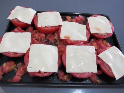 Tomates farcies chipolatas et merguez - 6.1