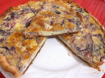 Quiche au chou rouge - 8.4