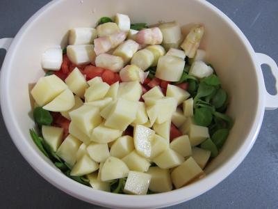 Mâche en velouté et sa gaufrette à la mozzarella - 4.1