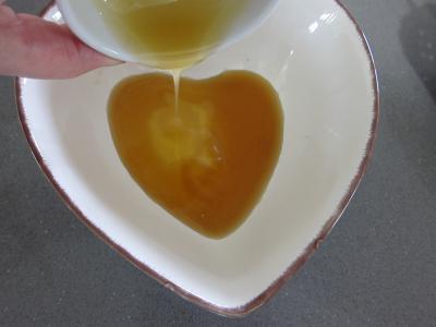 Coquelets au miel et aux pommes caramélisées et aux asperges - 4.3