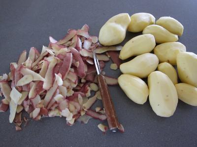 Miel aux pommes de terre et au boudin - 1.1