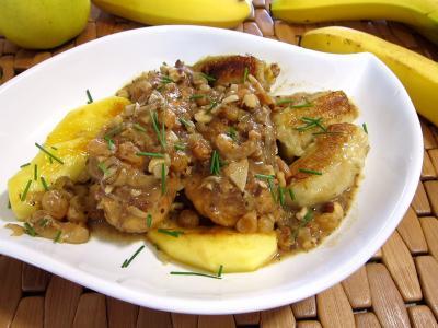 plat complet : Plat d'escalopes de poulet à la mexicaine, revisitées