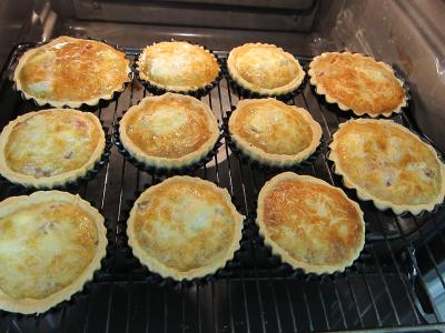 Tartelettes au brie et au jambon - 8.2