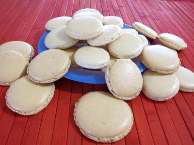 Recette Assiette de macarons à la vanille