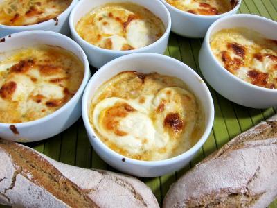 Image : Des cassolettes de fromage Selles sur cher
