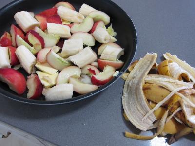Pêches, bananes et pistaches au rhum - 5.1