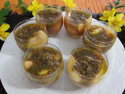 Pêches, bananes et pistaches au rhum - 6.1