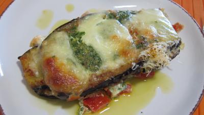 Aubergines à la mozzarella façon italienne - 7.2