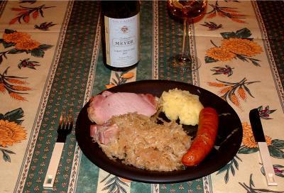 chou blanc : Choucroute et sa préparation