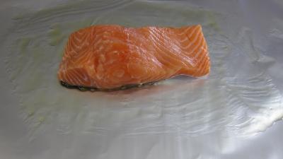 Papillotes de pavés de saumon - 4.3