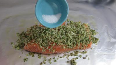 Papillotes de pavés de saumon - 5.1