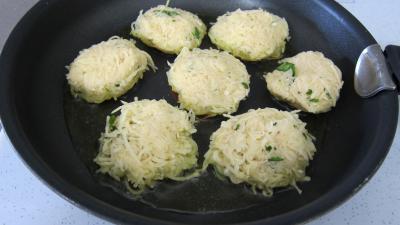 Recette Paillassons de pommes de terre