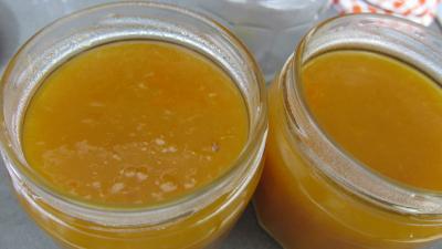 Confiture d'abricots au parfum de noix de coco - 7.2