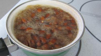 Soupe de poulet au lait d'amandes et de noix de coco - 3.3