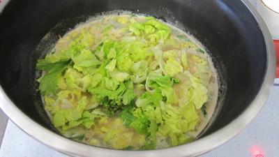 Soupe de poulet au lait d'amandes et de noix de coco - 7.2