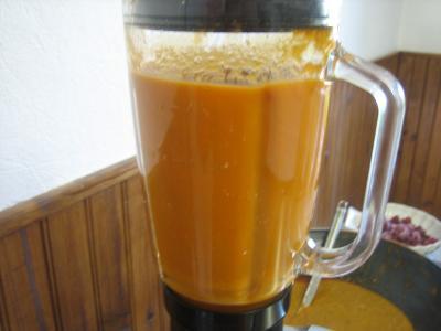 Crème de tomates et haricots verts - 14.2