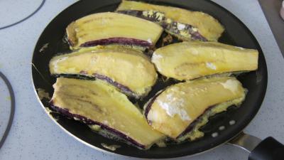 Crostinis d'aubergines et son concassé de boeuf façon Italienne - 6.2