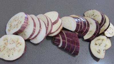 Sandwichs à l'aubergine et au jambon - 2.1