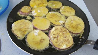 Sandwichs à l'aubergine et au jambon - 9.1