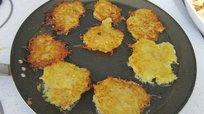 Recette Röstis de pommes de terre au jambon de Parme